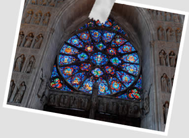 Vitral Catedral de Reims